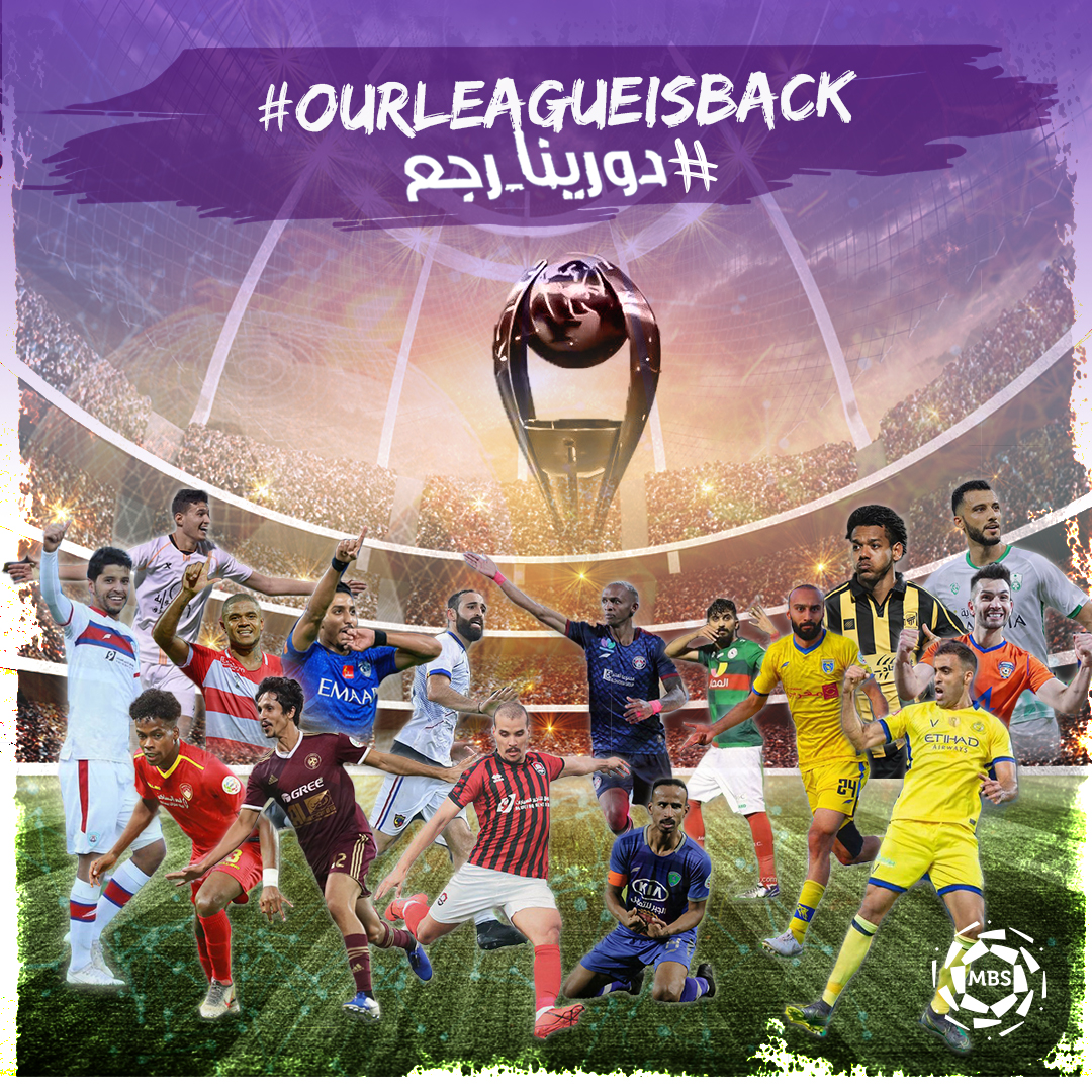 #OurLeagueIsBack What's left to play for in the remaining eight rounds of the Saudi Pro League